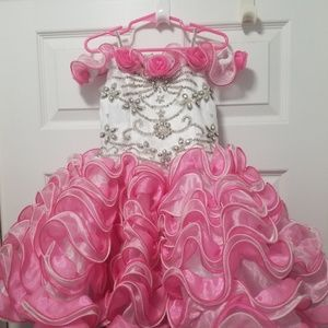 Size 4 cupcake pageant dress